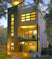 homes for narrow lots modern home plans canada amazing design narrow lot home plans small