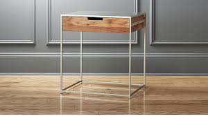 Metal Nightstands With Drawers Wood And Iron Nightstand In Nightstands Reviews Cb2