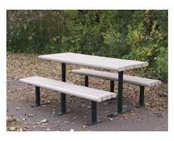 Park Bench And Table Recycled Plastic Picnic Tables Commercial Plastic Picnic Tables