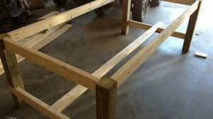 how to make a dining table from an old door how to make a dining table modern build from an old door and posts
