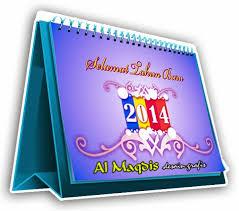 desain kalender meja keren sel desain template kalender meja 2014 keren cdr