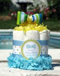 cake centerpiece lmk gifts baby shower bow tie cake centerpiece