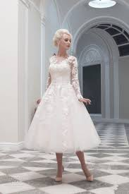 mid length wedding dress biwmagazine com