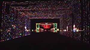 Christmas Lights Texas Grand Prairie Texas Christmas Light Tunnel Youtube