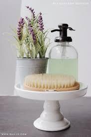 savon amber glass soap dispenser rail19