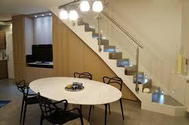 escalier entre cuisine et salon fashion designs