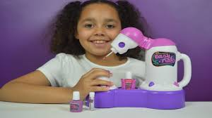 easy nails nail spa tutorial kids toy review youtube