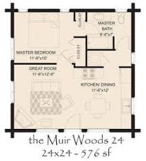 guest house floor plan 24 x 24 in quarters plan with laundry room guest
