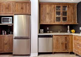Custom Kitchen Cabinets Reclaimed Wood