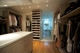 Storage Yorkville Design Centre - Bathroom with walk in closet designs