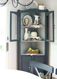 Sideboards Astonishing Corner Hutches For Kitchen Charming