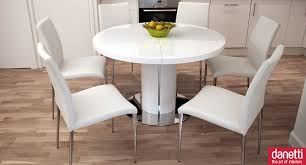 Modern Round Dining Table Sets Dining Room Dining Room With Outstanding White Expandable Dining