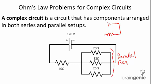 Physics Worksheet Physics 6 2 6 Ohm U0027s Law Problems For Complex Circuits Youtube