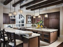 two level kitchen island designs fascinating kitchen layouts with two islands and two level
