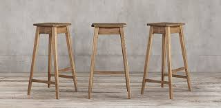 Restoration Hardware Bar Stool Oak Stool Collection Rh