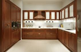 kitchen simple wood grain pvc modern kitchen cabinets matches the