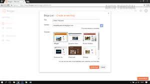 blogger atau blogspot cara mudah membuat blog di blogger atau blogspot 2017 anto tunggal