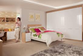 bedroom furniture with a white gloss finish Bedroom Furniture White Gloss
