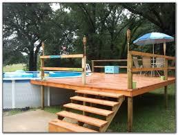 build a cheap pool deck decks home decorating ideas a9jxrkkwpj