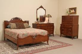 antique furniture bedroom sets sold french style 1940 s vintage joerns 4 pc full size bedroom
