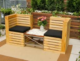 small patio bench home design ideas and pictures