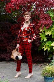 Mixed Patterns by Mixing Patterns Over 40 Tartan Trousers U0026 Statement Shoulders