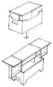 cing kitchen ideas nesting chuck box could the base be built so the cooler fits