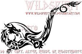 tribal dragon ankle tattoo by wildspiritwolf on deviantart