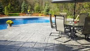 Average Price For Concrete Patio Average Cost Of A Patio Installation Garden Guides