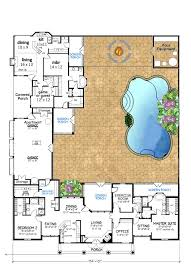 house plans with detached guest house house plans with breezeway and in suites breezeway between