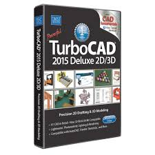 turbocad 2015 deluxe 2d 3d amazon co uk software
