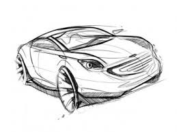 car sketch in photoshop u2013 part 1 car body design