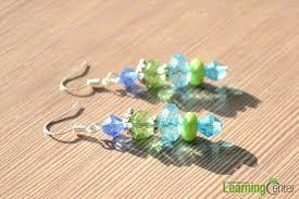 make dangle earrings earring ideas how to make beaded dangling earrings pandahall