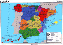 maps of spain spain maps
