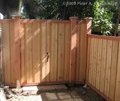 Wooden Ca by Modern Vertical Cedar Wood Fence U0026 Gate Matching Gate Detail