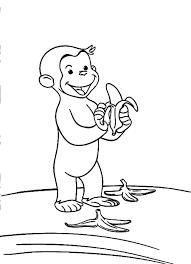curious george coloring pages printable printable curious george
