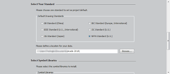 add manufacturers content and symbol libraries to autocad