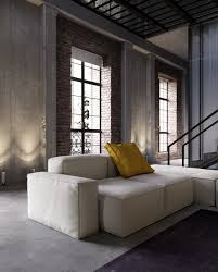 Modern Modular Sofa Home Designs Modern Modular Sofa Industrial Inspired Apartment