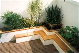 Roof Garden Design Ideas Architecture Simple Rooftop Garden Design Ideas With Slatted