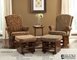 Rocking Chair Cushion Sets Furniture Nice Glider Rockers For Home Furniture Idea
