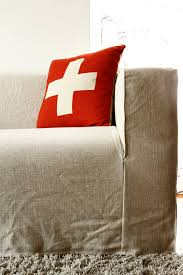 Klippan Loveseat Cover Spruce Up Your Ikea Klippan Sofa Cover In A Loose Linen Slipcover