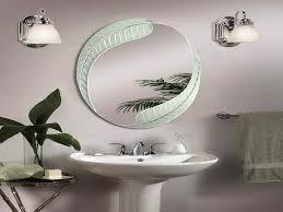 Bathroom Mirror Decorating Ideas Mirror On Mirror Decorating For Bathroom With Well Excellent