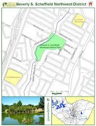 Austin Neighborhoods Map by Beverly S Sheffield Northwest District Park Map 7000 Ardath St