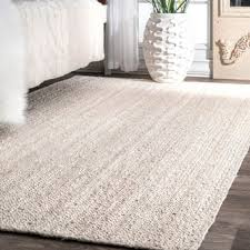 Brown And White Area Rug Jute 8 X 10 Rugs Area Rugs For Less Overstock