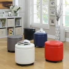 Ottoman Circle Ottomans Storage Ottomans For Less Overstock