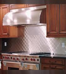 stainless kitchen backsplash bright quilt stainless steel backsplashes from quickshipmetals com
