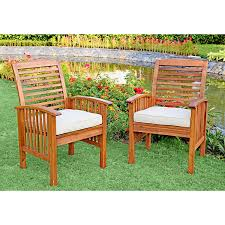Acacia Wood Outdoor Furniture Durability by Amazon Com We Furniture Solid Acacia Wood 6 Piece Patio Dining