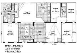 doublewide floor plans 4 bedroom double wide trailers floor plans mobile homes ideas