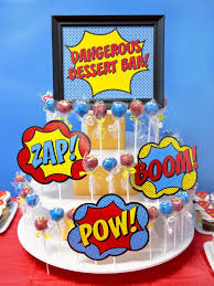 kara u0027s party ideas superhero themed staff teacher appreciation