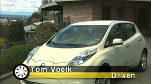 nissan leaf insurance cost 2011 nissan leaf sl hd video review youtube